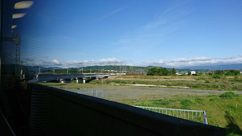 2018.4.26 上野 (10) 大阪難波いき特急 - 中川短絡線 1440-810
