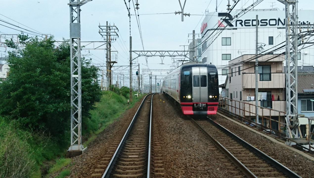 2018.5.3 (2) 一宮いき急行 - 名古屋-栄生間(豊橋いき快速特急) 1270-720