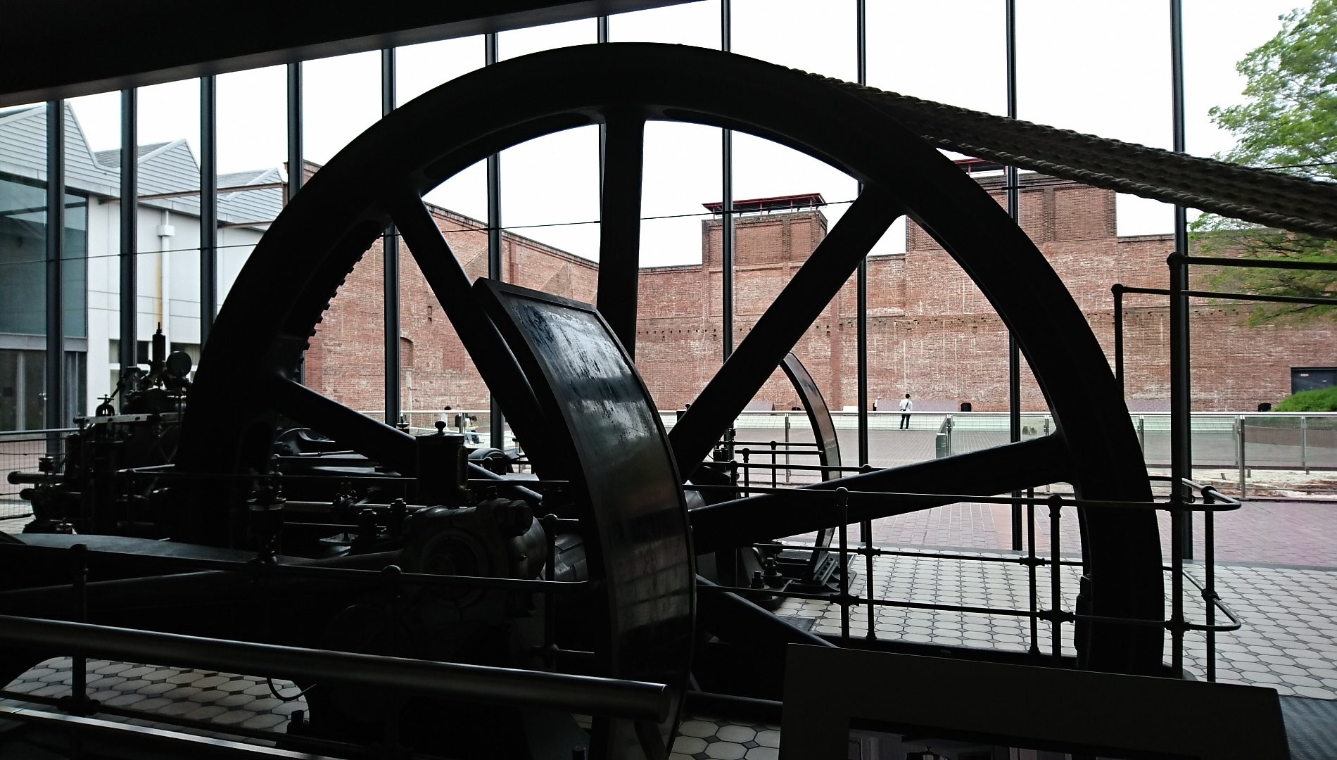 2018.5.3 (16) トヨタ産業技術記念館 - 蒸気機関 1900-1080