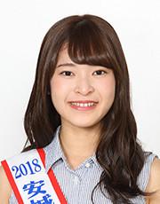 2018年度あんじょうたなばた親善大使 (5) 都築羽菜さん(あんじょうし)