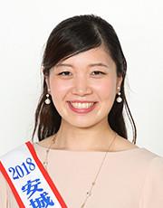2018年度あんじょうたなばた親善大使 (1) 広中実夢さん(あんじょうし)