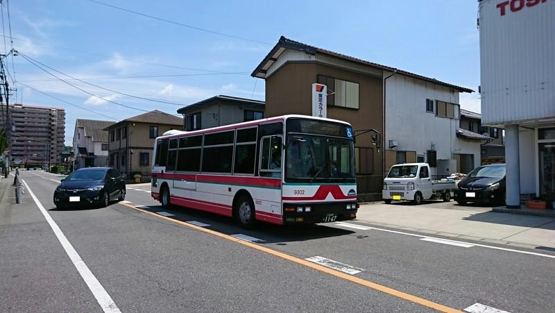 2018.6.3 中島おたうえまつり (25) 長池公園前バス停 - 東岡崎いきバス 1880-1060