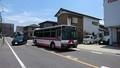 2018.6.3 中島おたうえまつり (25) 長池公園前バス停 - 東岡崎いきバス 1880-