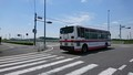 2018.6.3 中島おたうえまつり (26) 中島町上野交差点 - 東岡崎いきバス 1280-