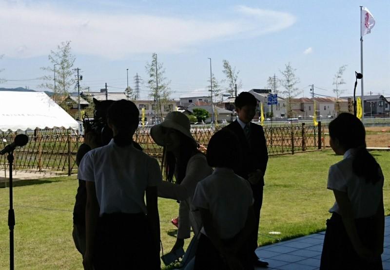 2018.6.3 中島おたうえまつり (29) チャンネル桜の取材 1110-770