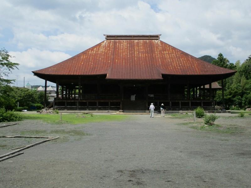 2018.6.7 みたけ (94) 願興寺 - 本堂 2000-1500