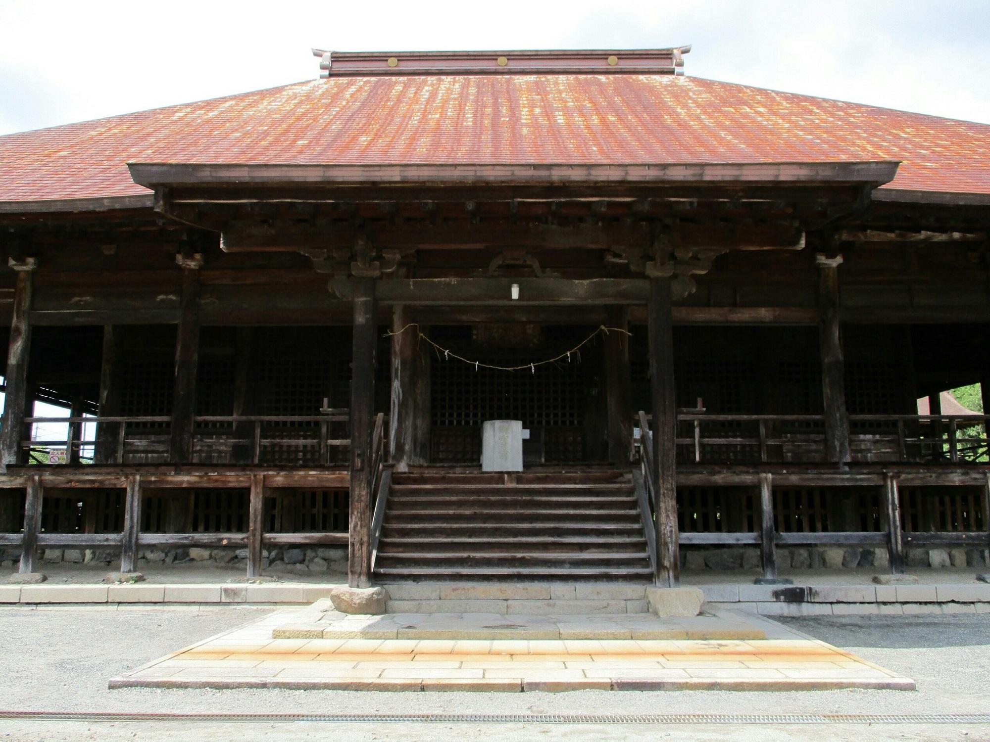 2018.6.7 みたけ (95) 願興寺 - 本堂 2000-1500