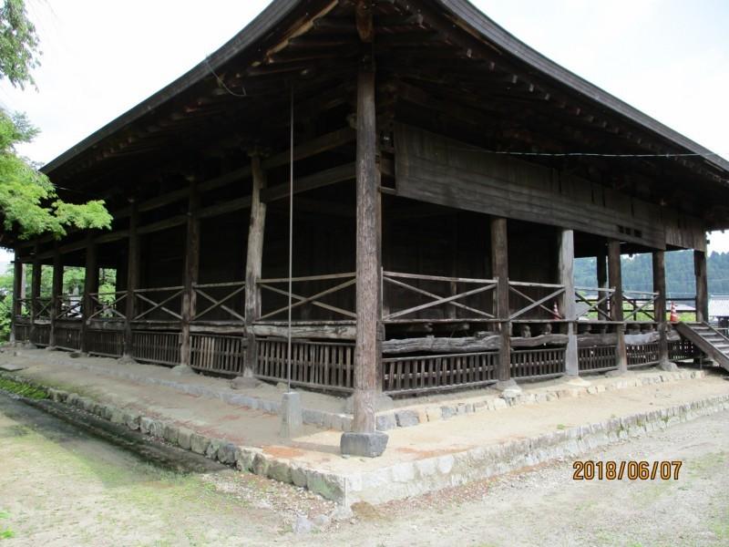 2018.6.7 みたけ (98) 願興寺 - 本堂 2000-1500