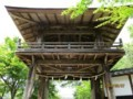 2018.6.7 みたけ (99) 願興寺 - 鐘楼門 2000-1500