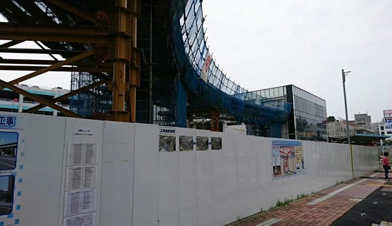 2018.6.10 (14い) 東岡崎 - ペデストリアンデッキ 1250-720