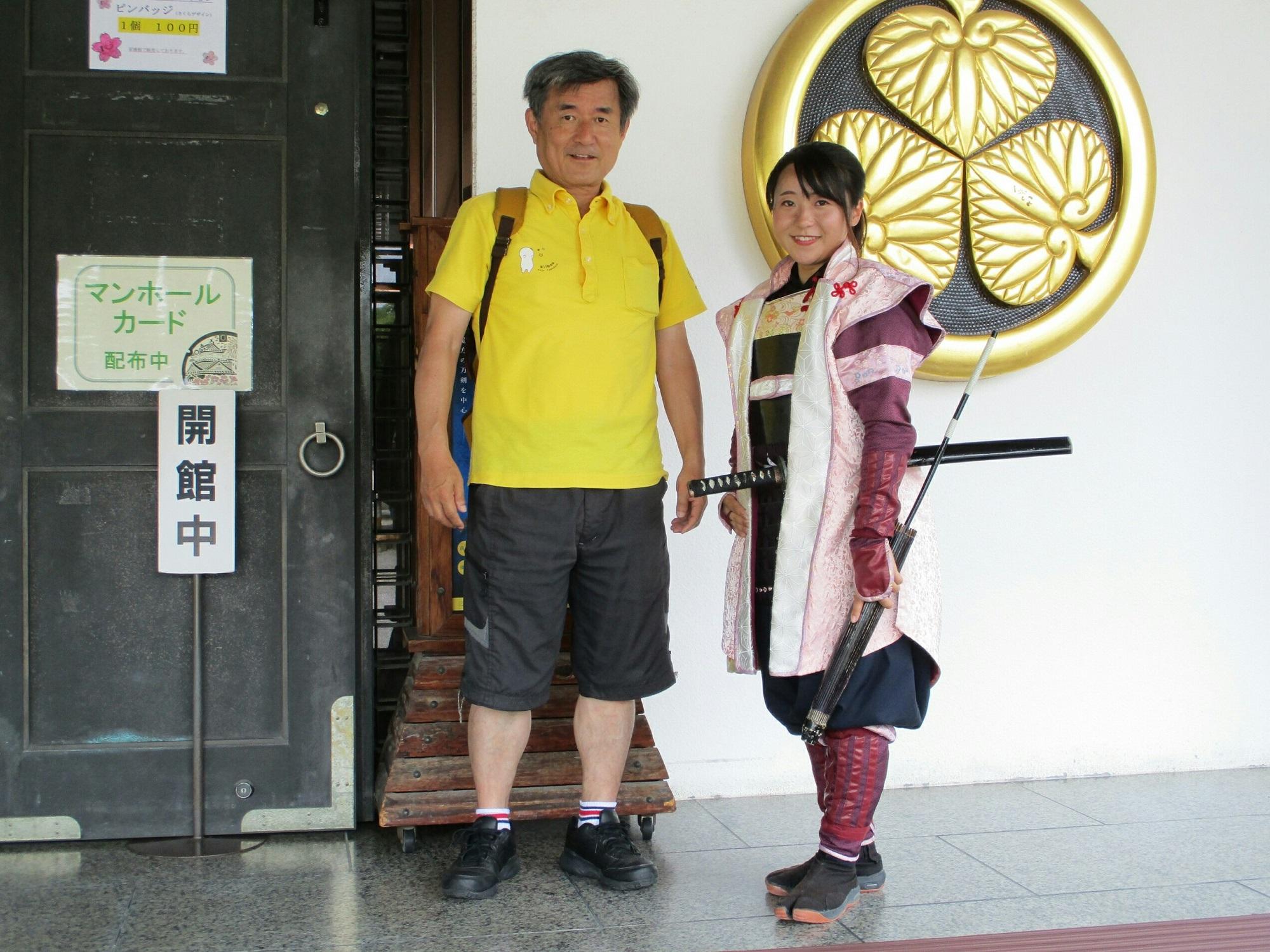 2018.6.11 (8) 三河武士のやかた - 稲姫と記念さつえい 2000-1500