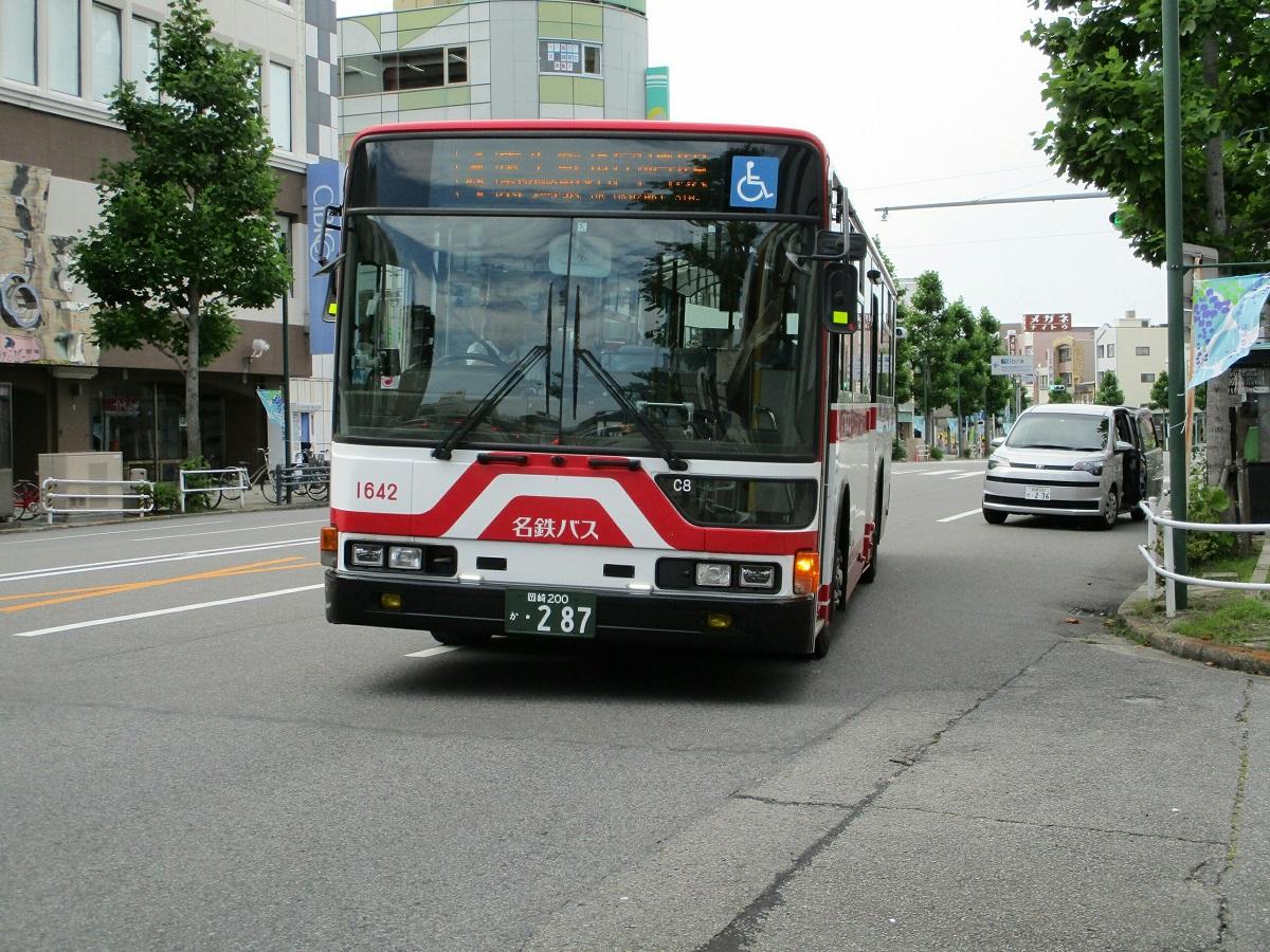 2018.6.11 (11) 康生町バス停 - JR岡崎駅いきバス 1200-900