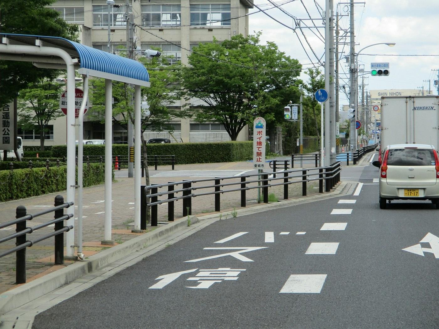 2018.6.12 (4) 更生病院いきバス - 総合運動公園 1400-1050