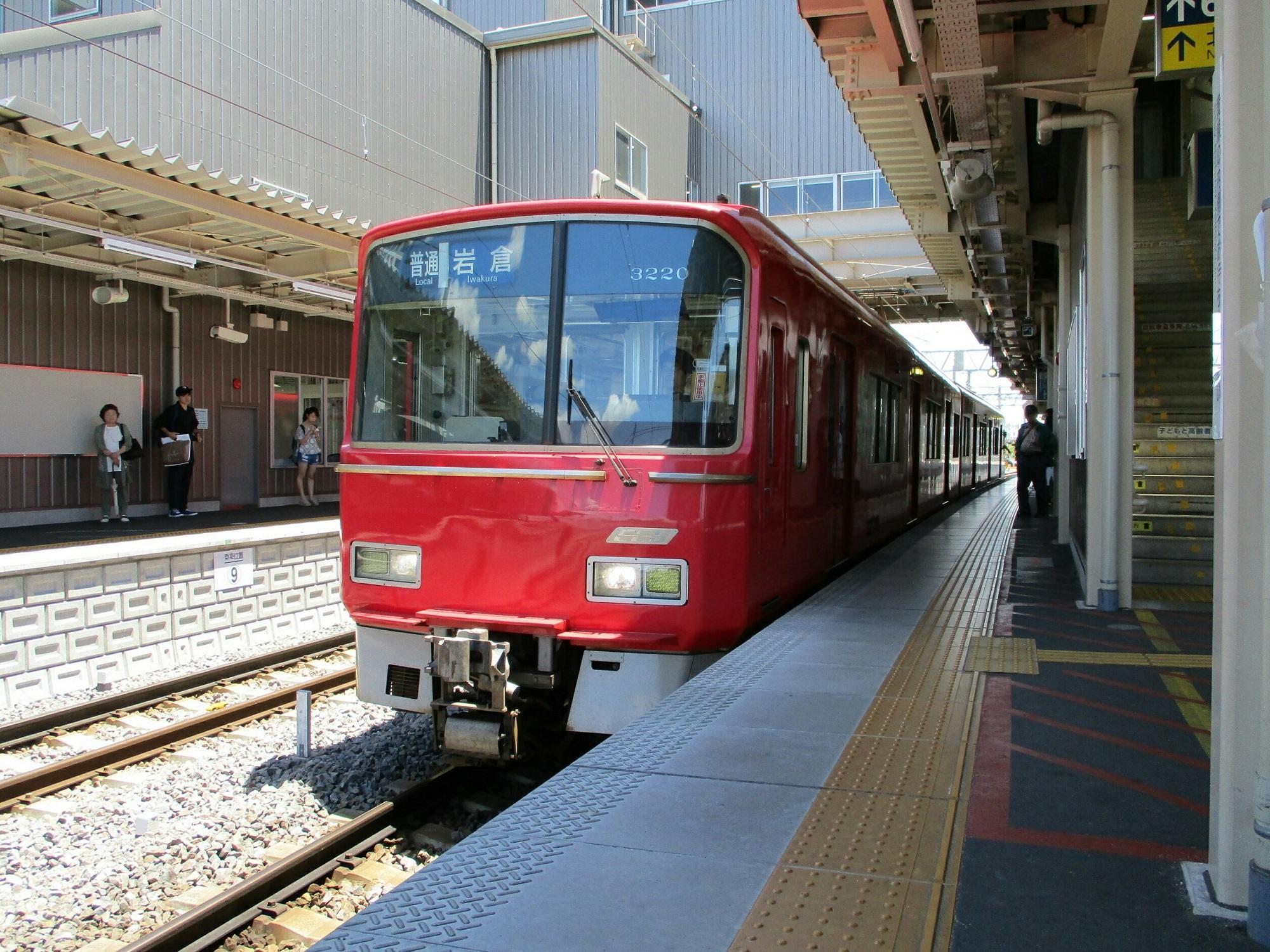 2018.6.12 (8) 知立 - 岩倉いきふつう 2000-1500