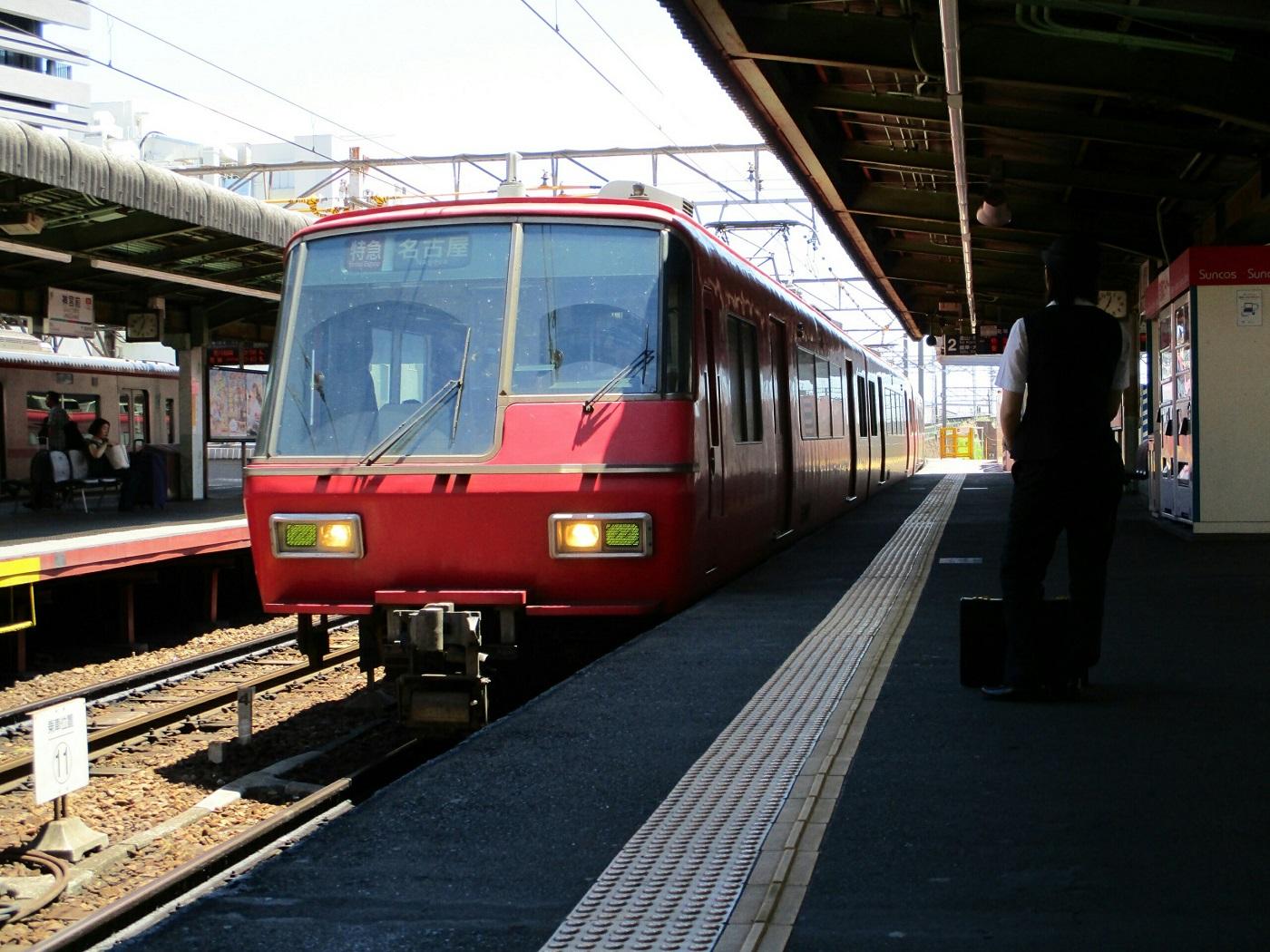 2018.6.12 (11) 神宮前 - 名古屋いき特急(まえ) 1400-1050