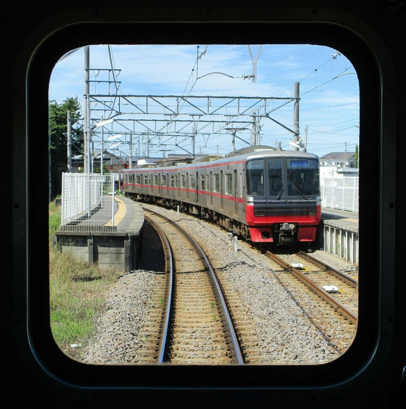 2018.6.13 西尾 (7) 吉良吉田いきふつう - 米津(弥富いき急行) 1370-1380