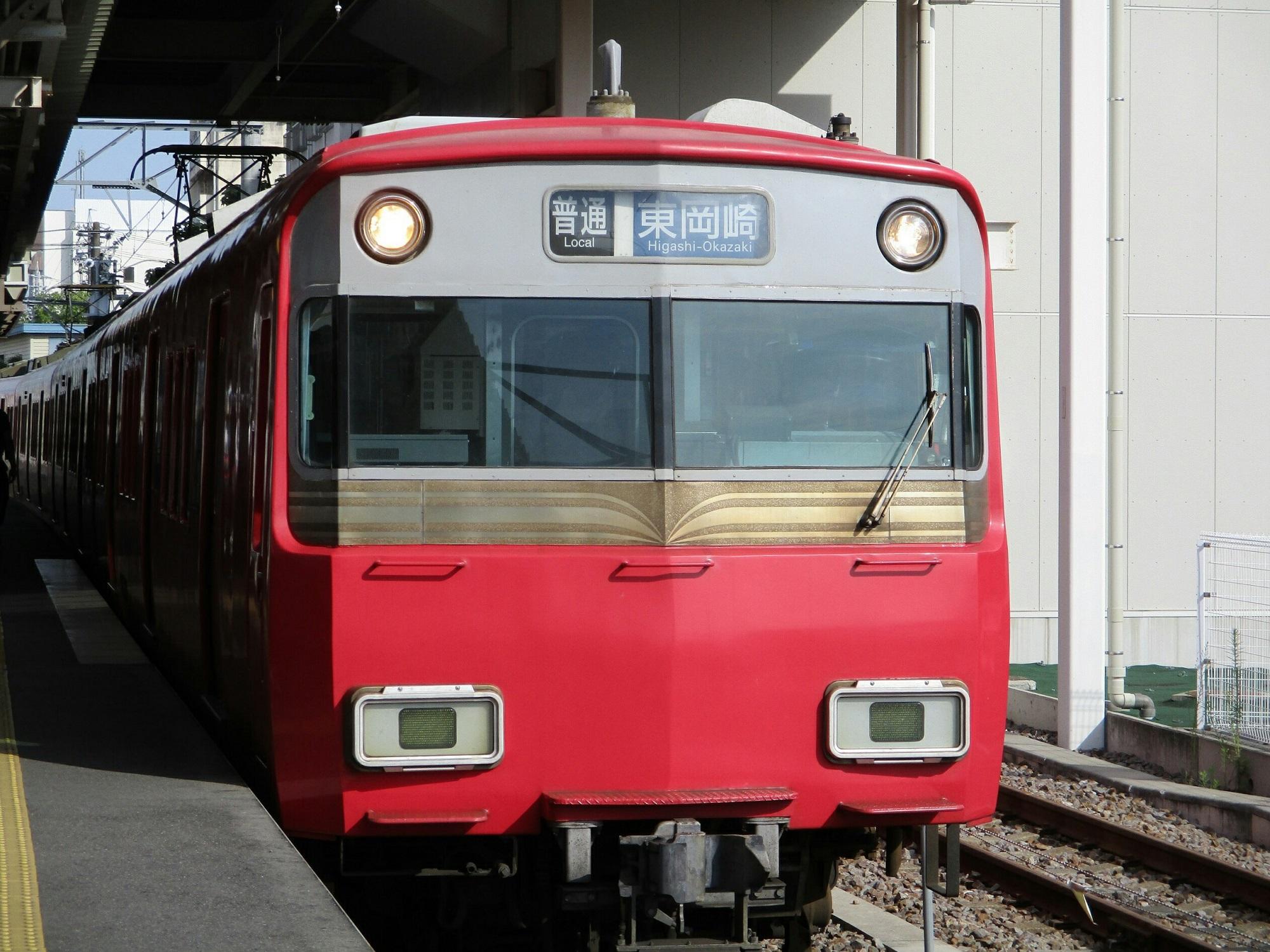 2018.6.22 (3) しんあんじょう - 東岡崎いきふつう 2000-1500