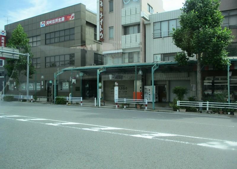 2018.6.22 (16) 足助いきバス - 本町バス停 1200-860
