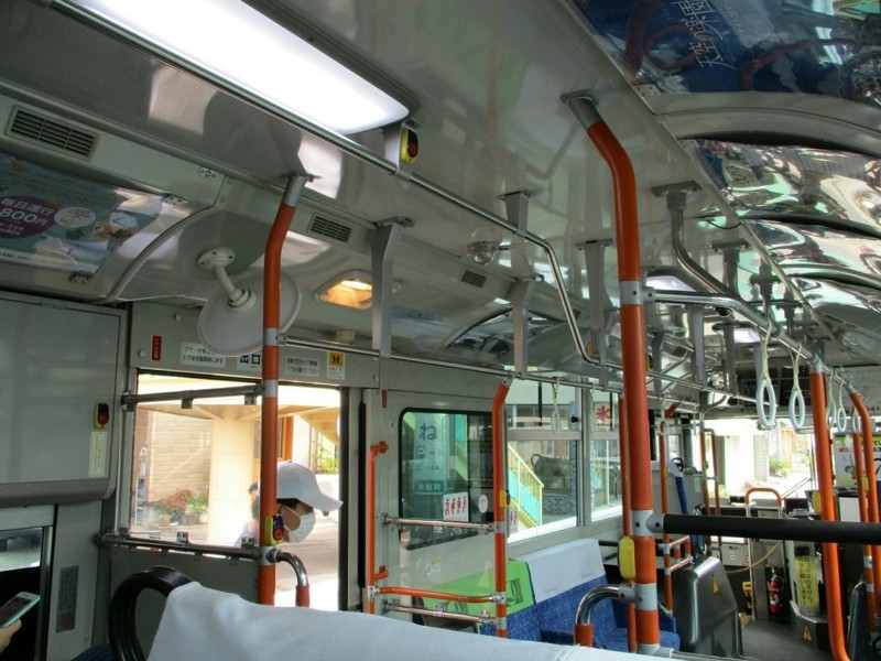 2018.6.22 (20) 足助いきバス - 井田バス停 1200-900