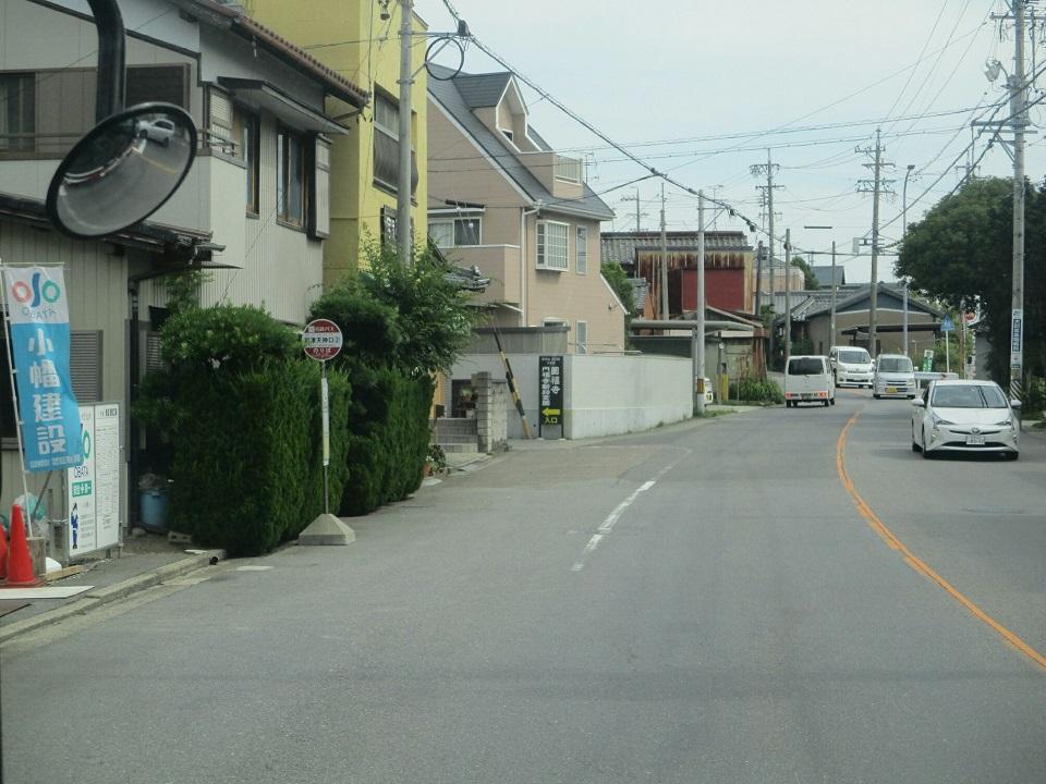 2018.6.22 (30) 足助いきバス - 岩津天神口バス停 960-720