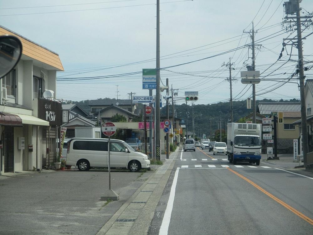 2018.6.22 (37) 足助いきバス - 細川バス停 1000-750