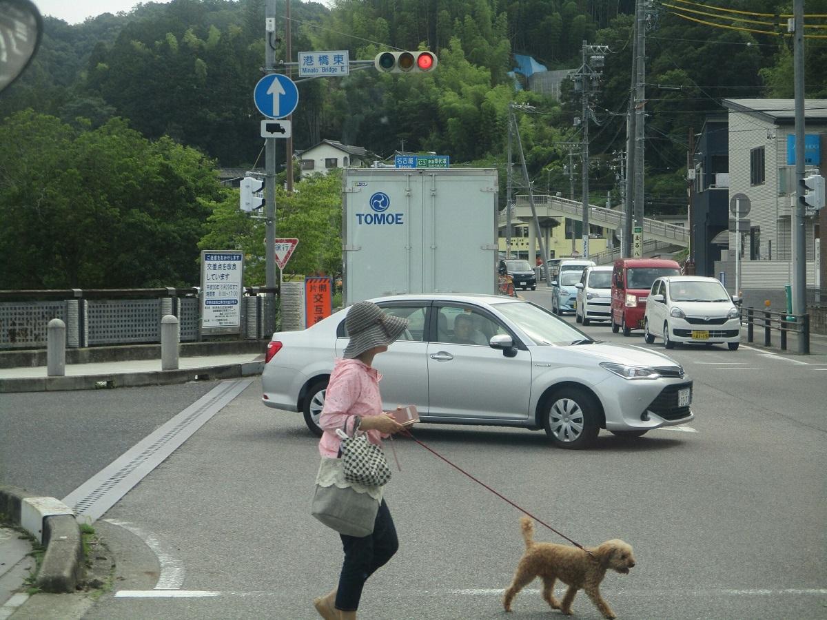 2018.6.22 (46) 足助いきバス - 港橋東交差点 1200-900