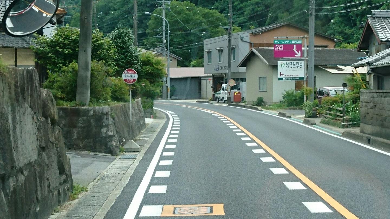 2018.6.22 (67) 足助いきバス - 足助追分バス停 1440-810