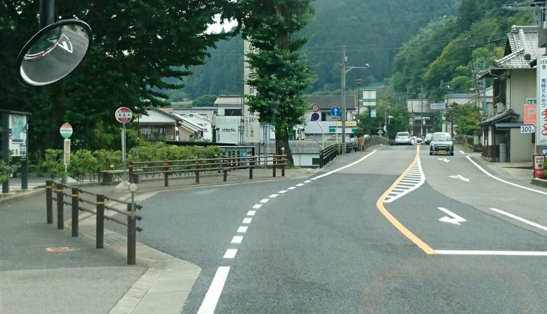 2018.6.22 (74) 足助いきバス - 香嵐渓バス停 1810-1040