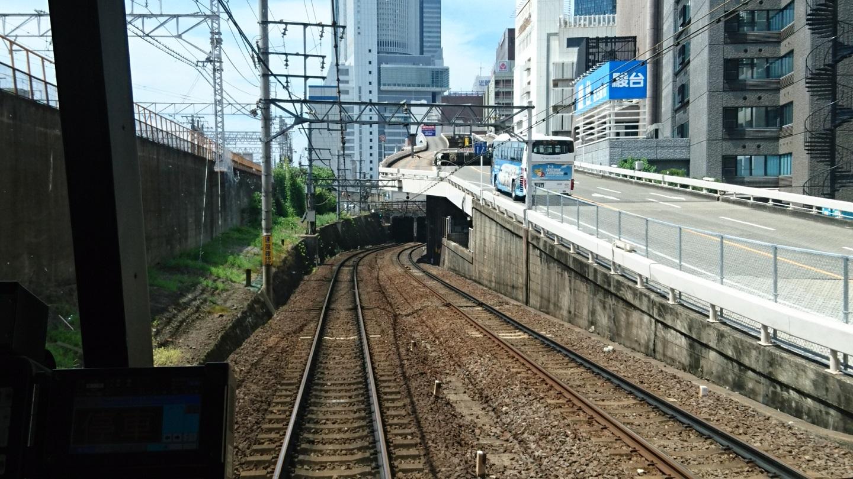 2018.6.22 (111) 岐阜いき特急 - 山王-名古屋間 1440-810