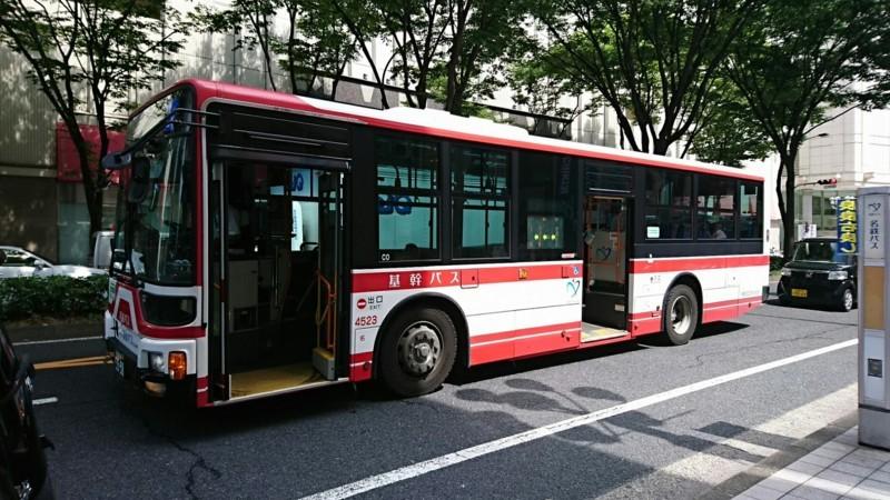 2018.6.22 (117) 松坂屋前バス停 - 三軒家いきバス 1850-1040