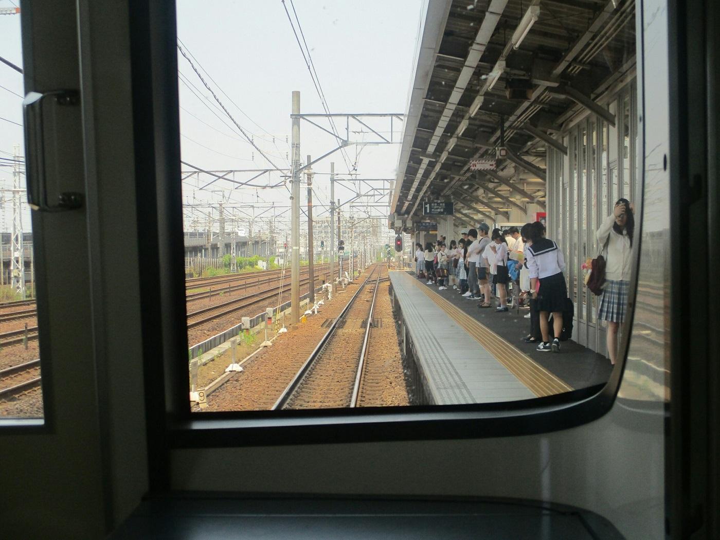 2018.6.25 一宮 (6) 新可児いき準急 - 栄生 1400-1050