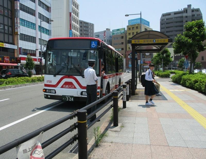 2018.6.25 一宮 (21) 尾張一宮駅前 - 尾張一宮駅前いきバス 1560-1200