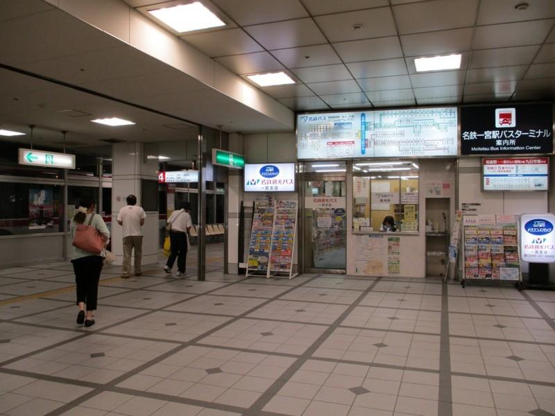2018.6.25 一宮 (28) 名鉄一宮駅バスターミナル 1600-1200
