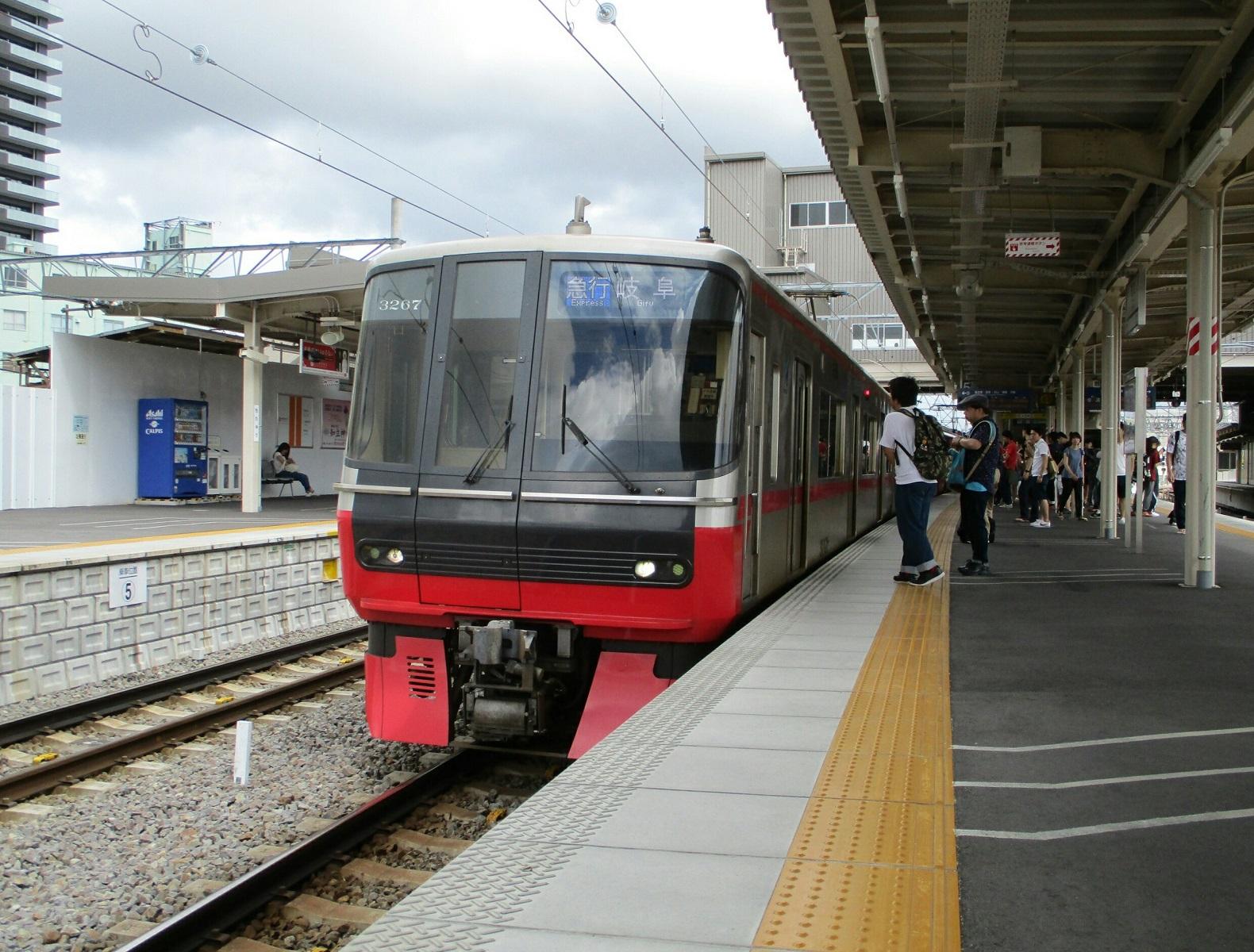 2018.6.30 (3) 知立 - 岐阜いき急行 1580-1200
