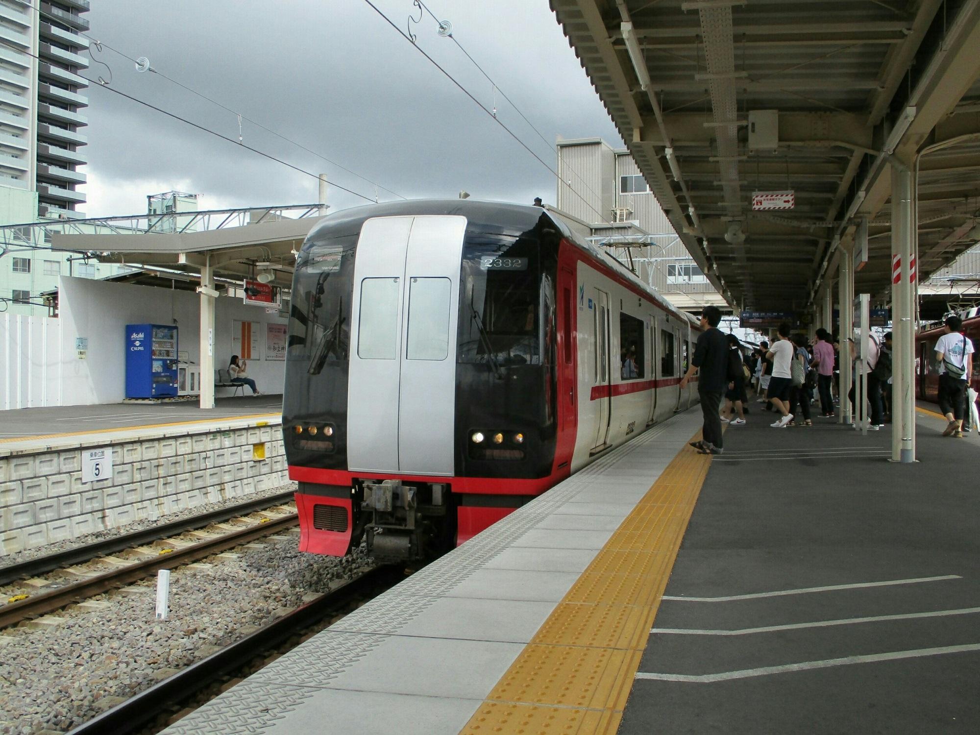 2018.6.30 (4) 知立 - 新鵜沼いき快速特急 2000-1500