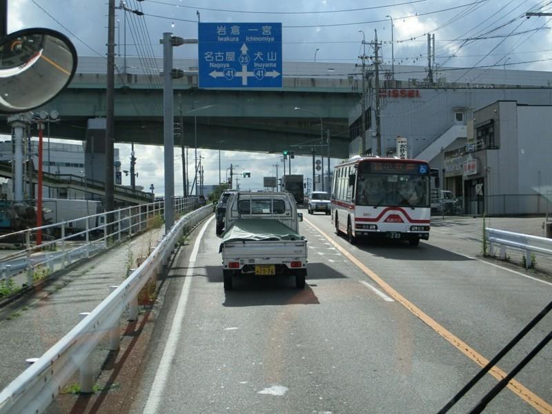 2018.6.30 (47) 岩倉駅いきバス - 名古屋高速てまえ(はんたいバス) 1200-900