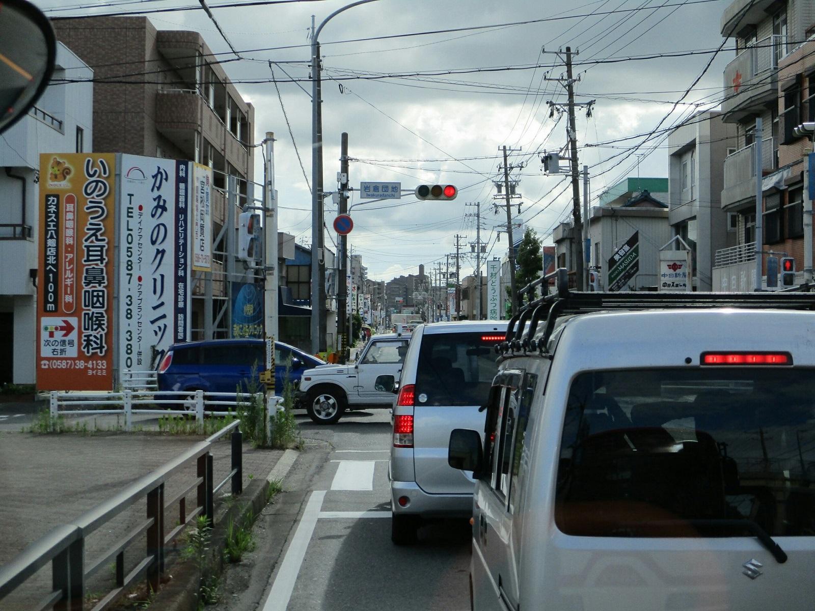 2018.6.30 (51) 岩倉駅いきバス - 岩倉団地交差点 1600-1200