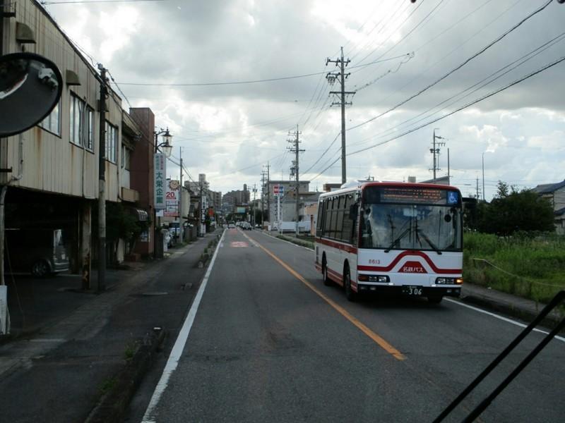 2018.6.30 (52) 岩倉駅いきバス - バス停間(はんたいバス) 1200-900