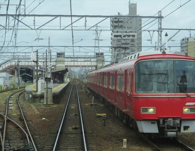 2018.7.2 (8) 新鵜沼いき快速特急 - 矢作橋(東岡崎いきふつう) 1550-1200