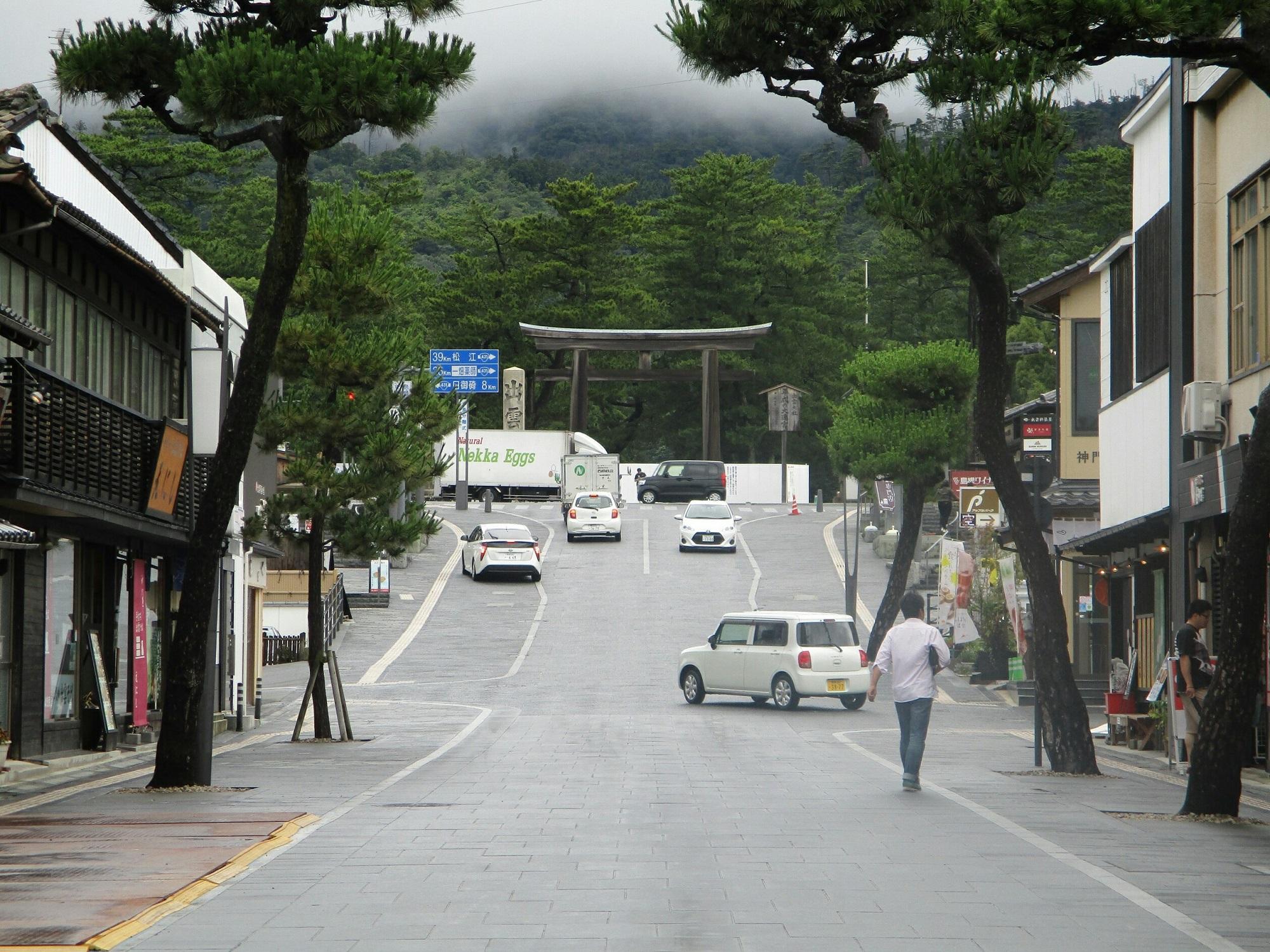 2018.7.6 (82) 出雲大社 - 勢溜(せいだまり)のとりい 2000-1500
