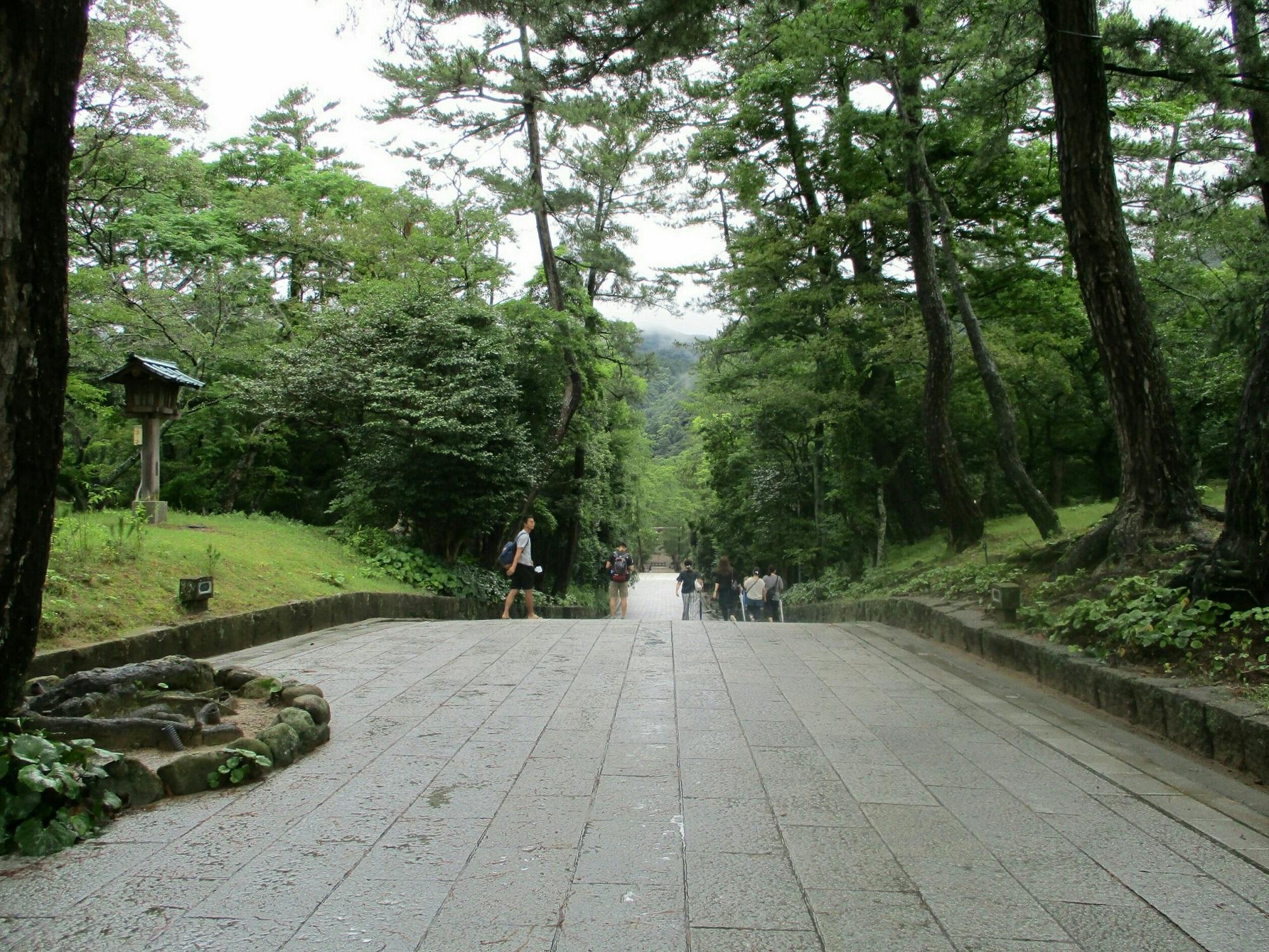 2018.7.6 (85) 出雲大社 - 参道 2000-1500