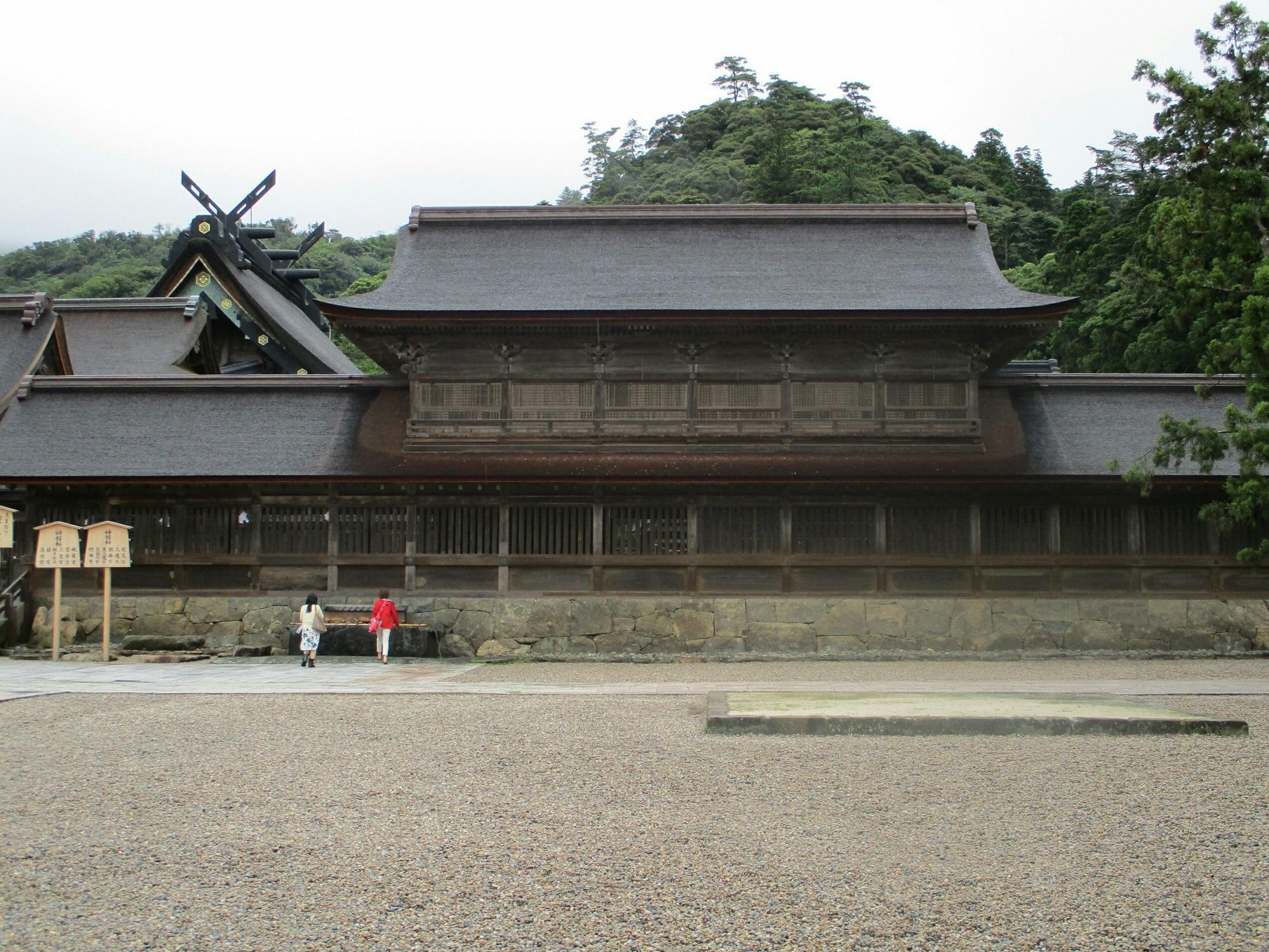 2018.7.6 (97) 出雲大社 - 観祭楼 2000-1500