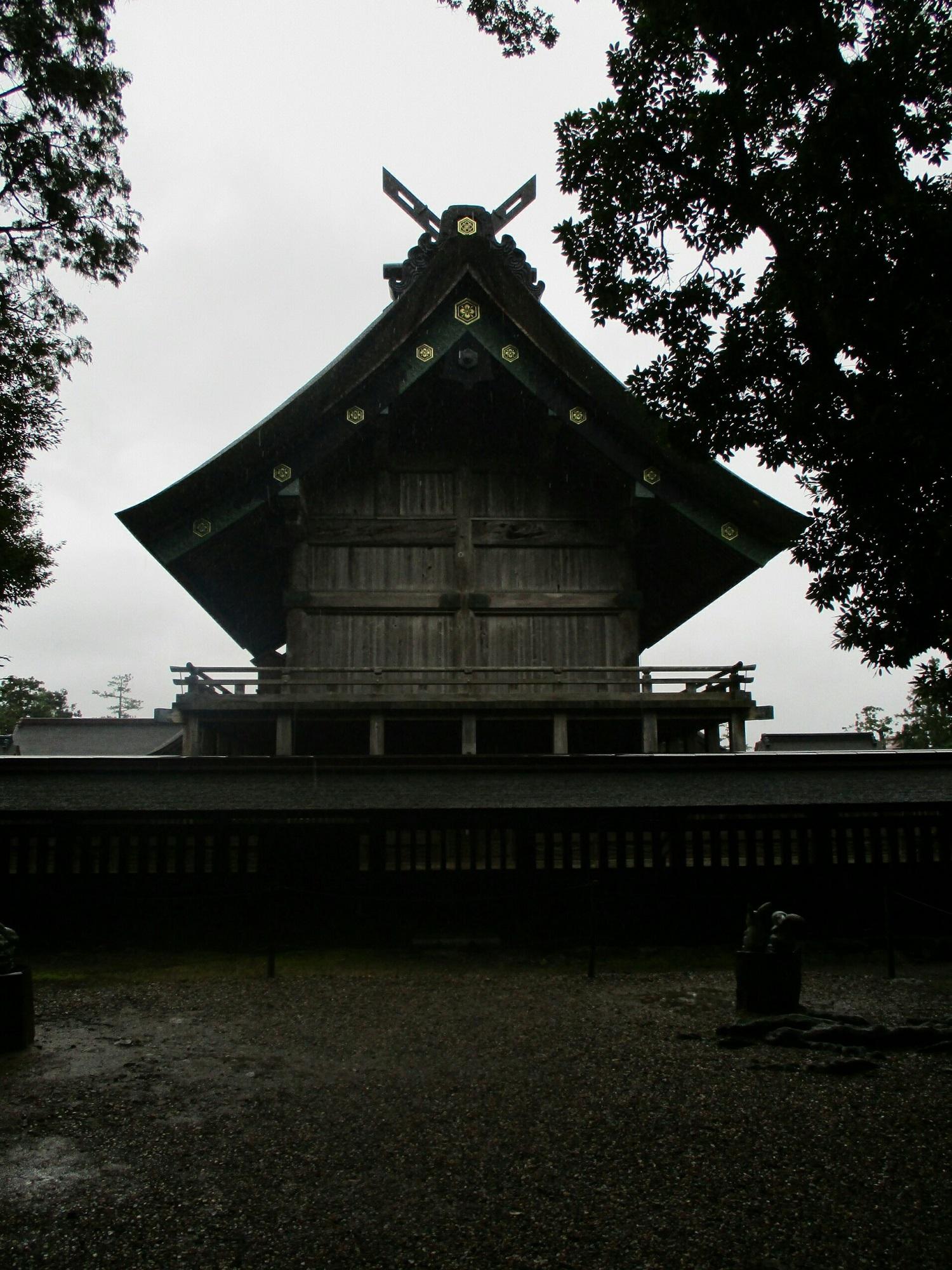 2018.7.6 (106) 出雲大社 - 本殿 1500-2000