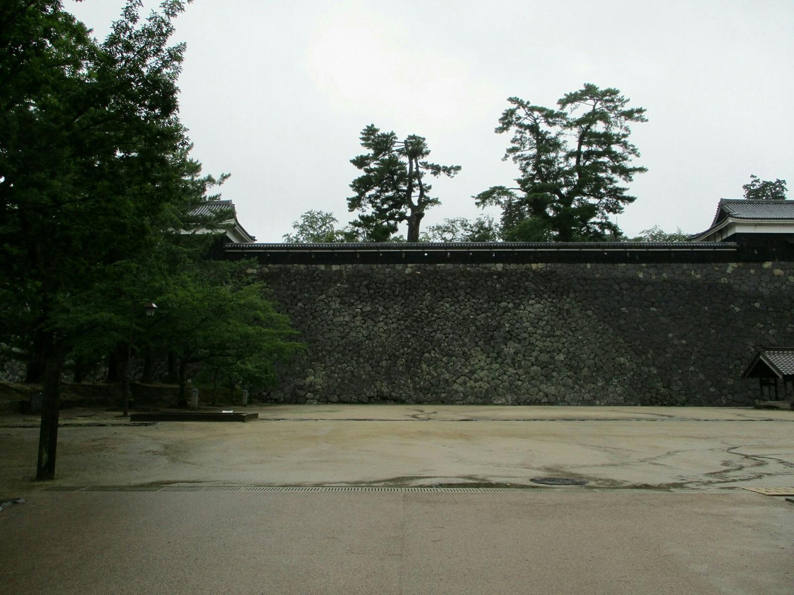2018.7.7 (35) 松江城 - 中櫓と太鼓櫓 1600-1200