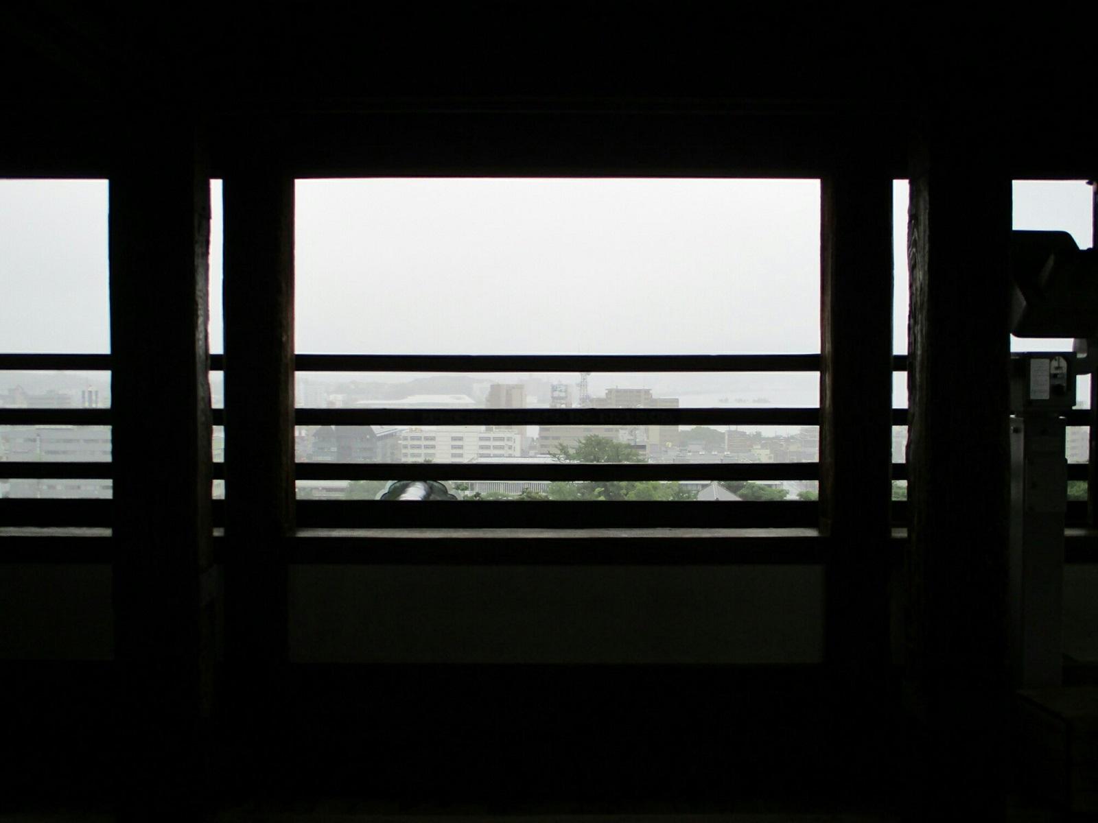 2018.7.7 (50) 松江城 - 天守閣最上階 1600-1200