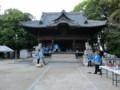 2018.7.8 古井神社かり遷座祭 (1) 拝殿 2000-1500