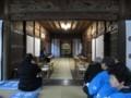 2018.7.8 古井神社かり遷座祭 (2) 渡殿からおくに本殿 1600-1200