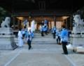 2018.7.8 古井神社かり遷座祭 (5) 本殿での儀式終了 1150-900