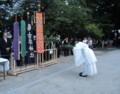 2018.7.8 古井神社かり遷座祭 (7) そとでの儀式 1530-1200