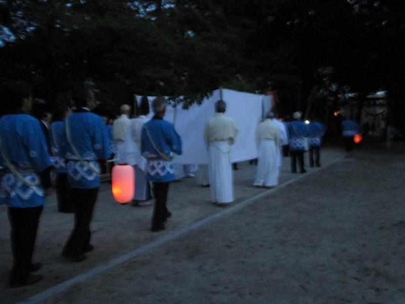 2018.7.8 古井神社かり遷座祭 (15) 境内一周 800-600